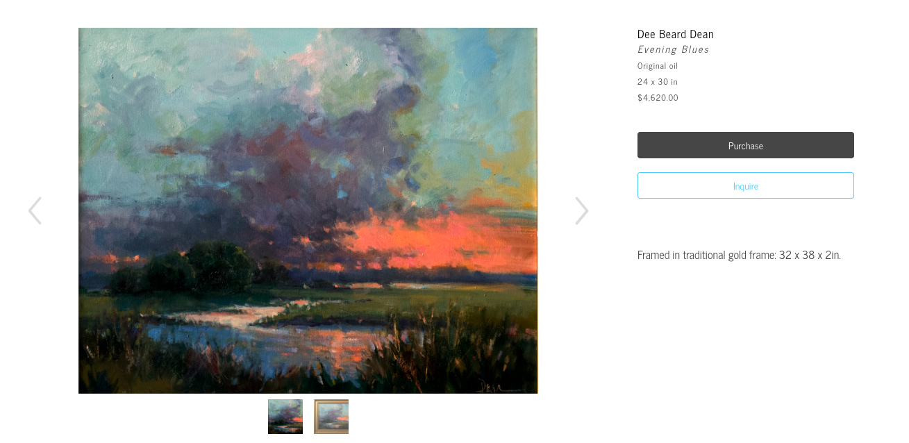 Show multiple artwork images on your ArtCloud website