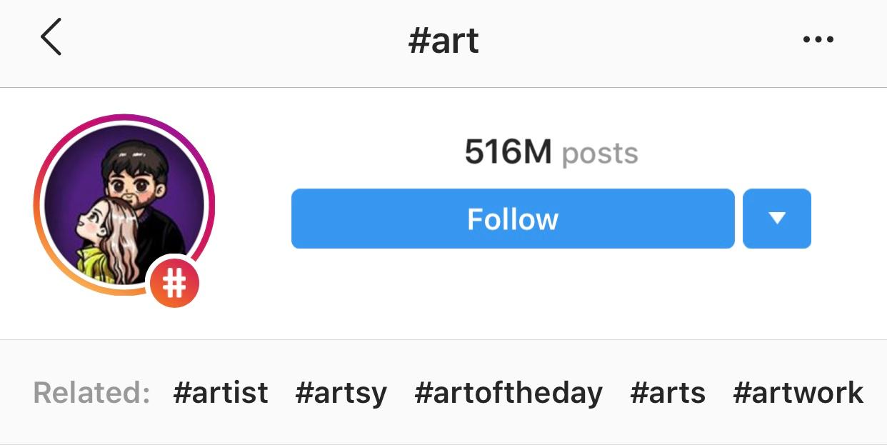 #art on Instagram